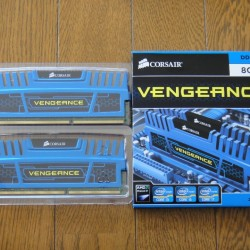 Memorie Corsair DDR3 8192MB (2 x 4096MB) 1600MHz CL9 Vengeance Rev.B