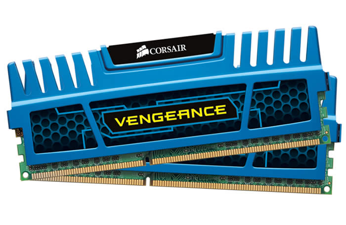 Memorie Corsair DDR3 8192MB (2 x 4096MB) 1600MHz CL9 Vengeance Rev.B